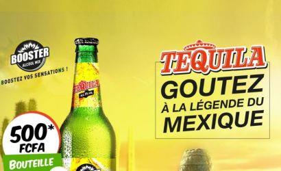 Goûtez à la légende du Mexique: Booster Tequila