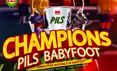 Règlement de la compétition nationale de Babyfoot : CHAMPION'S PILS BABYFOOT
